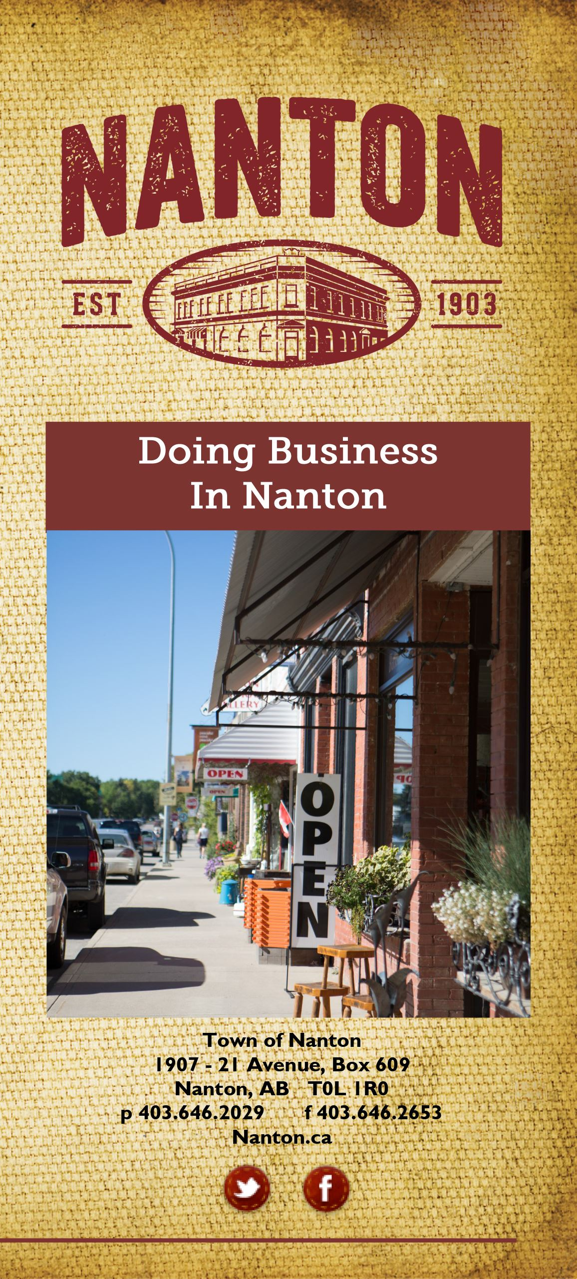 Biz License Brochure Cover