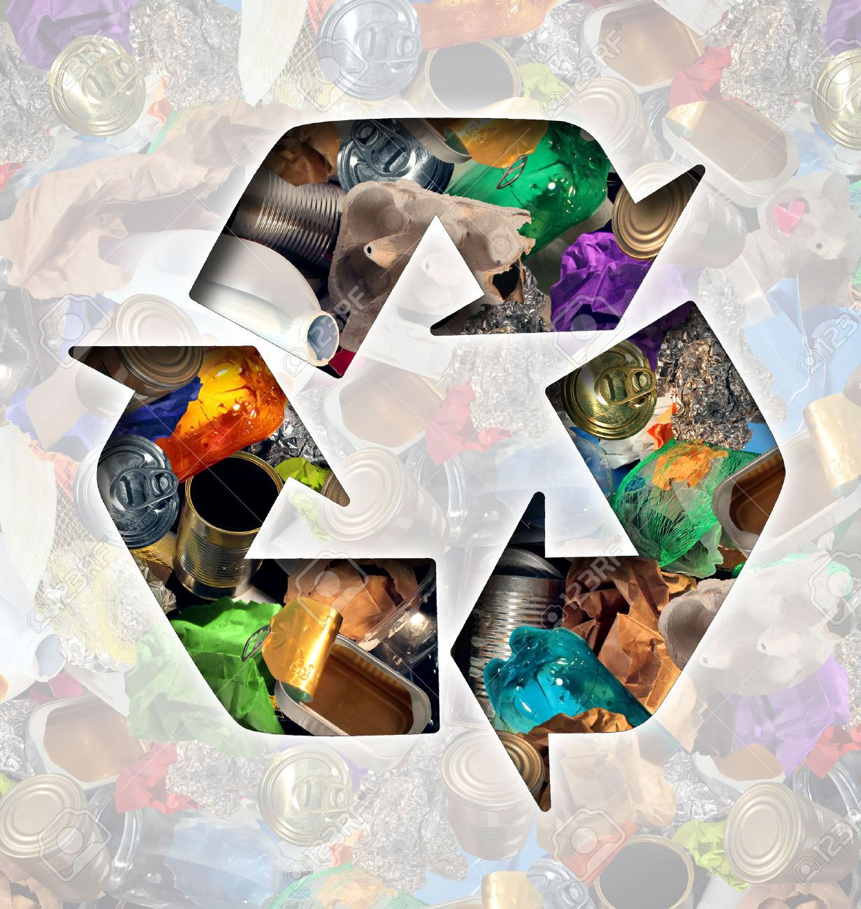 newsflash garbage and recycling image