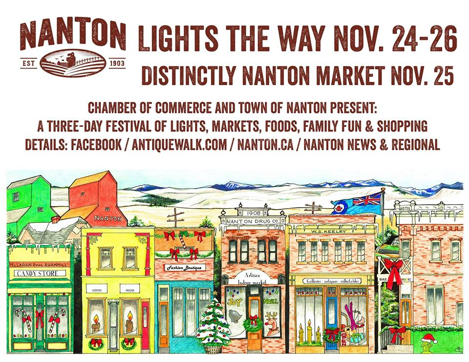 nanton lights the way 2017