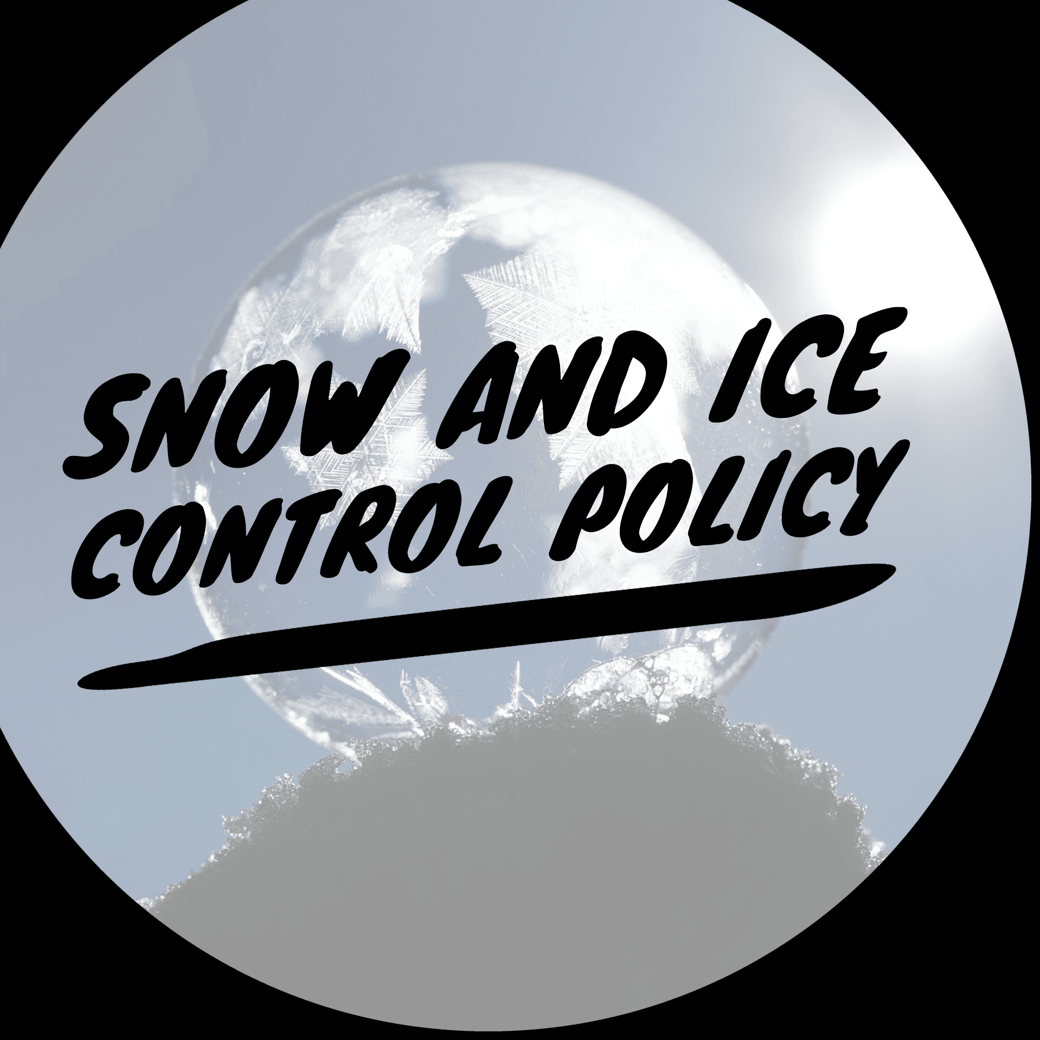 Snow and Ice Control Poliay