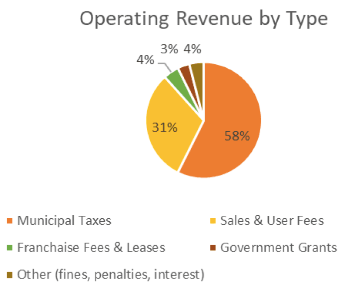 Breakdown of Revenue Sources