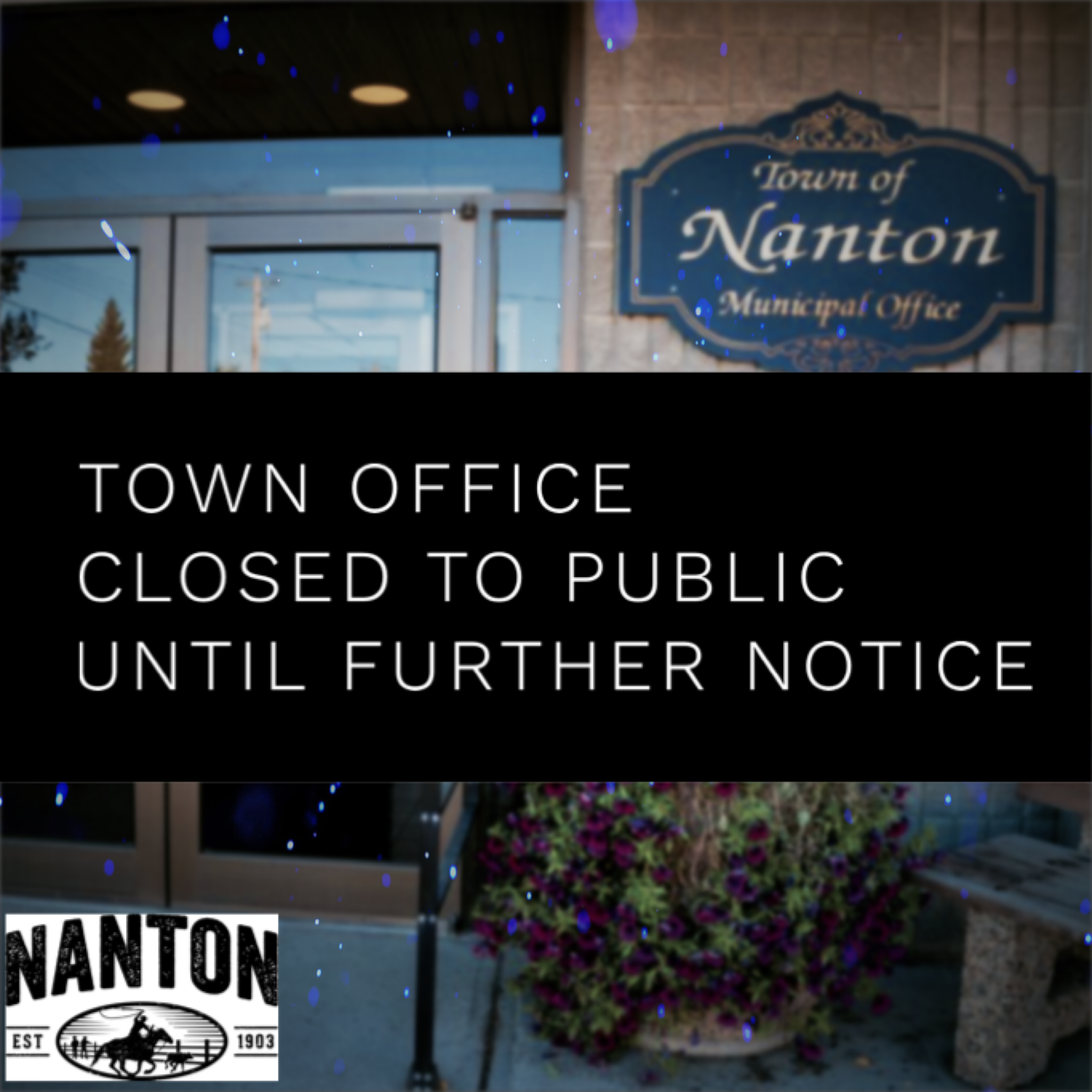 Town Office Closed to Public
