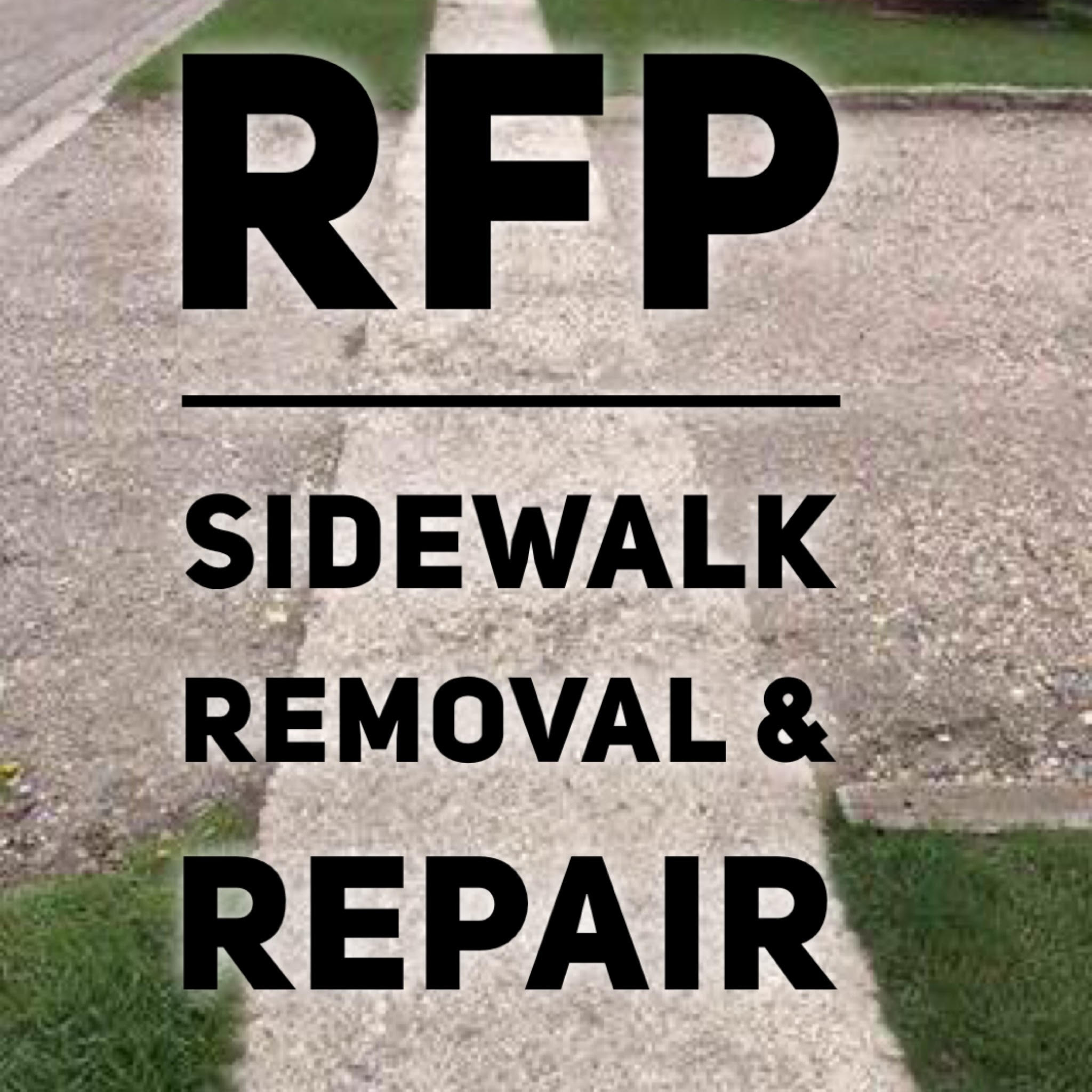 rpf sidewalk repair