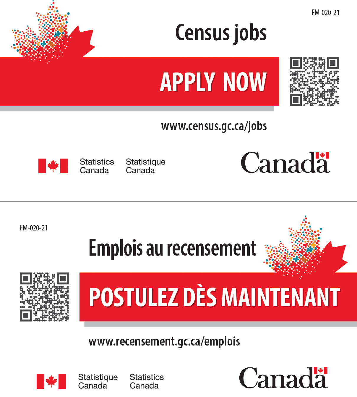census canada postcard newsflash