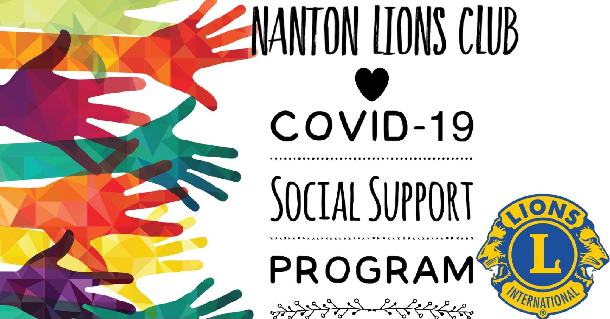 Nanton lions social support program