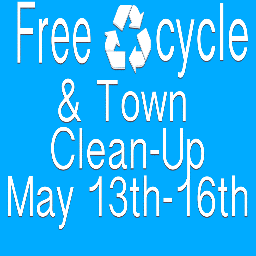freecycle and town cleanup 2021