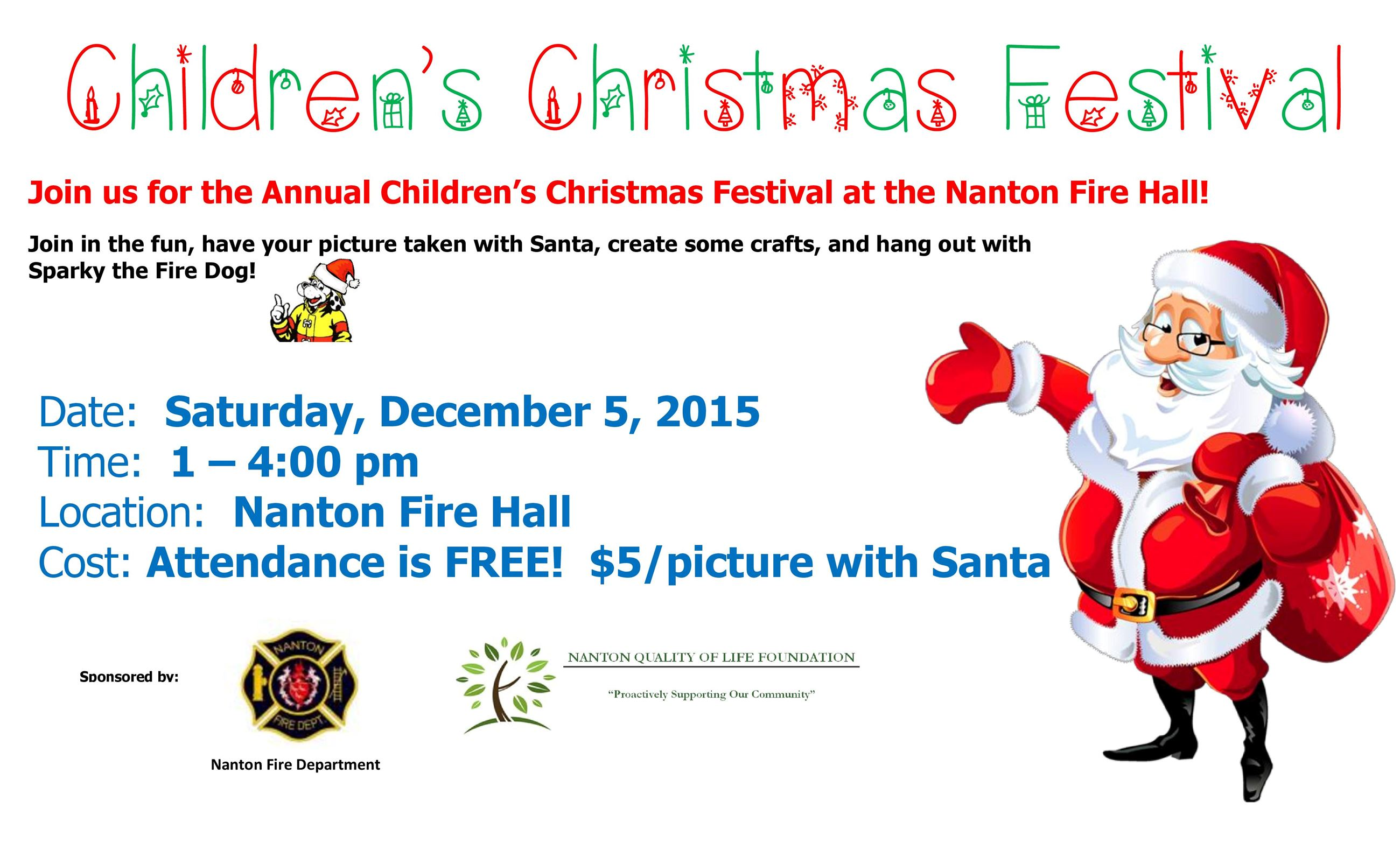 Children s Christmas Festival - Poster-page-001